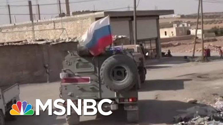 Trump Helps Putin Tick Through Russia's World Affairs Wish List | Rachel Maddow | MSNBC 1