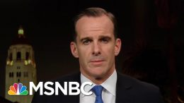Trump National Security Official On Trump & Syria: 'This Is Just Obscene' | The Last Word | MSNBC 9