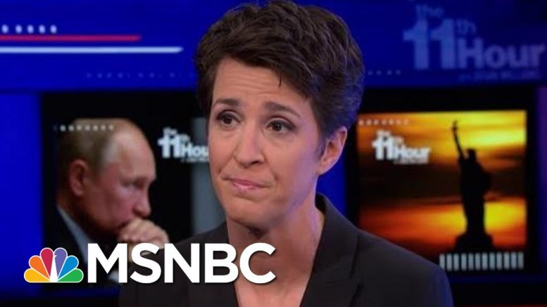 Maddow Explains Why Putin's Russia Hacked The 2016 Election | The 11th Hour | MSNBC 1