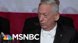 Gen. James Mattis Fires Back At Trump For 'Overrated' Remark | Morning Joe | MSNBC 4