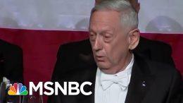 Gen. James Mattis Fires Back At Trump For 'Overrated' Remark | Morning Joe | MSNBC 1