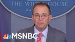 See Trump's Aide Admit Ukraine Quid Pro Quo On Live TV   The Beat With Ari Melber   MSNBC 9