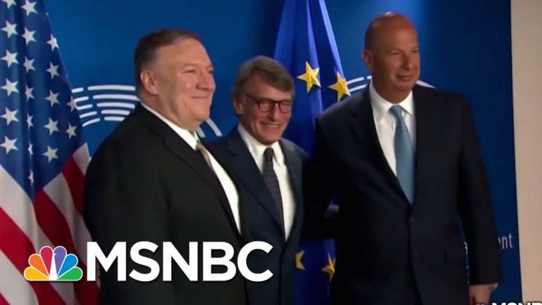President Donald Trump & Ukraine: Quid Pro Quo? | On Assignment with Richard Engel | MSNBC 1