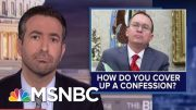 Impeachment Circular Firing Squad? See Trump's Allies Turn On Aide Who Admitted Ukraine Plot | MSNBC 5