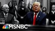 Dickey: Syria Crisis Only Worsens Europe's Frustration With Trump | The 11th Hour | MSNBC 3