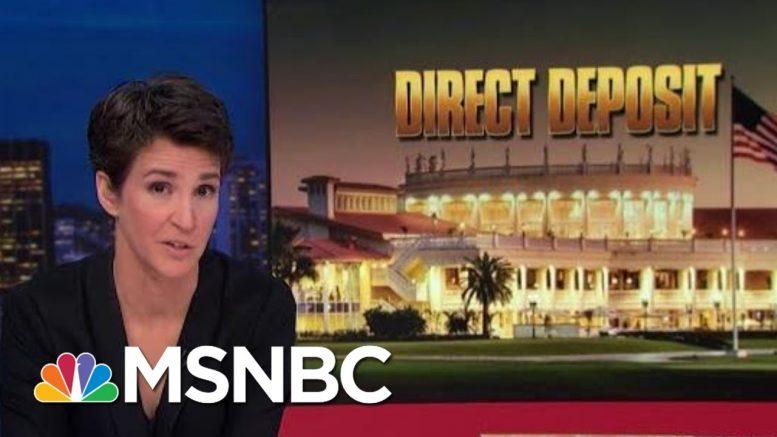 Trump Self-Dealing On G7 Summit Would Boost Failing Doral Resort | Rachel Maddow | MSNBC 1