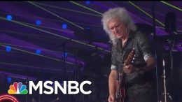 Queen Performs 'Who Wants To Live Forever' | MSNBC 5