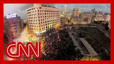 Thousands in Lebanon protests march against corruption and tax hikes 7