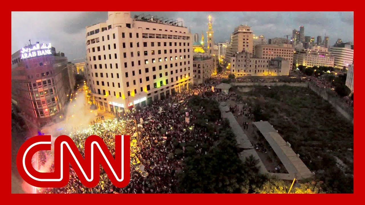 Thousands in Lebanon protests march against corruption and tax hikes 4