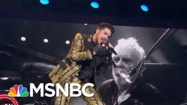 Queen Performs 'Under Pressure'   MSNBC 6
