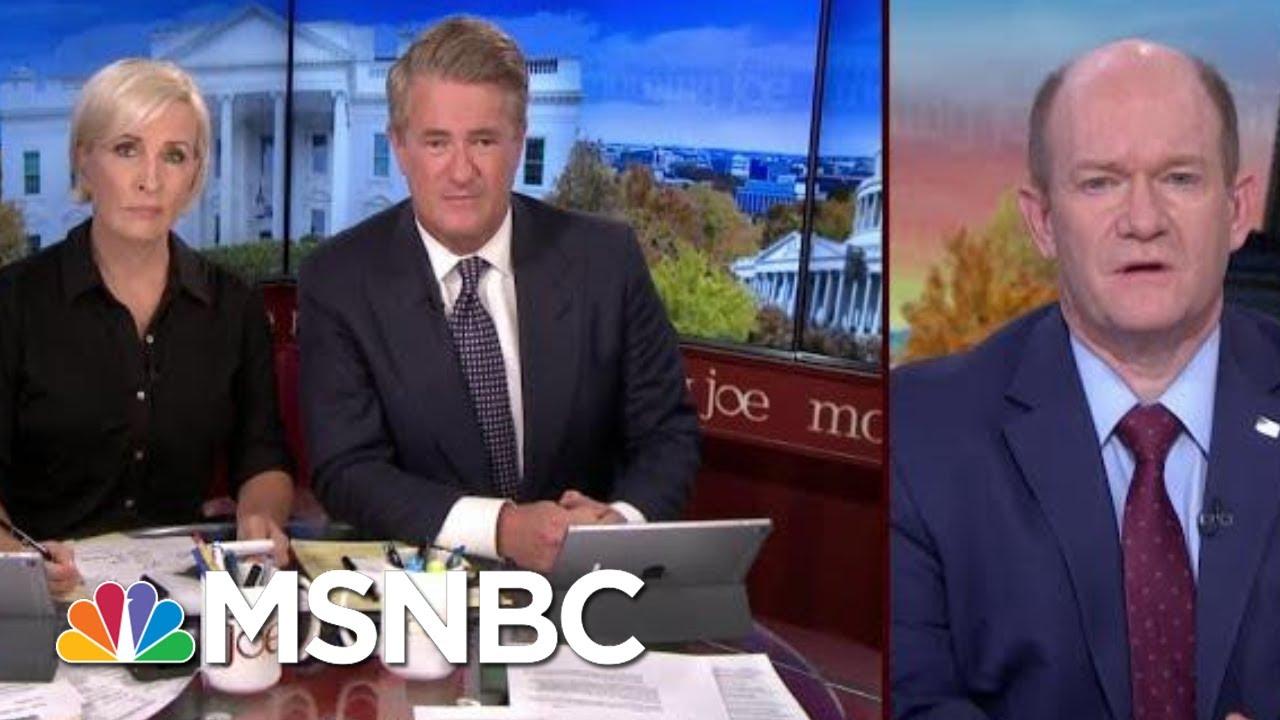 President Donald Trump Putting Troops At Greater Risk, Says Senator   Morning Joe   MSNBC 7