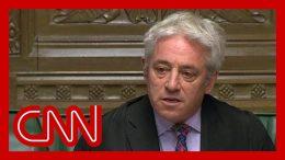 Speaker refuses vote on Boris Johnson's Brexit deal 2