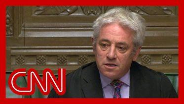 Speaker refuses vote on Boris Johnson's Brexit deal 6