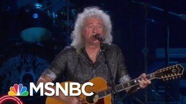 Queen Performs 'Love Of My Life' | MSNBC 2