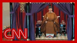 Japan's new emperor formally takes the throne 3