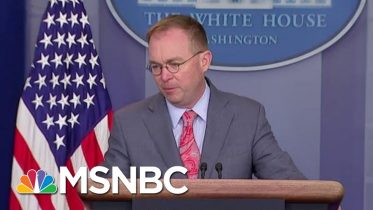 White House Kicks Off Busy Impeachment Week In Clean-Up Mode | Velshi & Ruhle | MSNBC 6