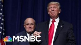 NBC News Investigates Rudy Giuliani's Business Dealings | Velshi & Ruhle | MSNBC 9