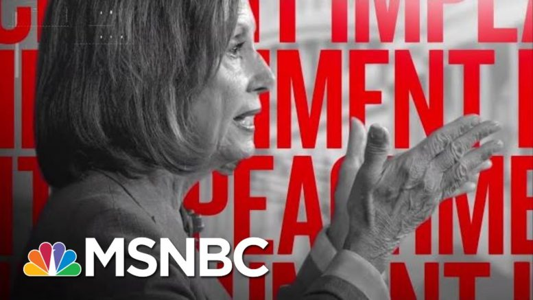 Watch: How Dems Are Building The Impeachment Case Against Trump   The Beat With Ari Melber   MSNBC 1