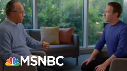 Mark Zuckerberg Believes Politicians Should Be Uncensored On Facebook | Velshi & Ruhle | MSNBC 8