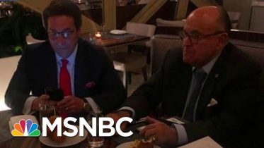 See Photos Of Indicted Giuliani Associate Celebrating With Trump Lawyer | MSNBC 6