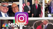 The Instagram Page Of An Indicted Rudy Giuliani Associate | All In | MSNBC 3