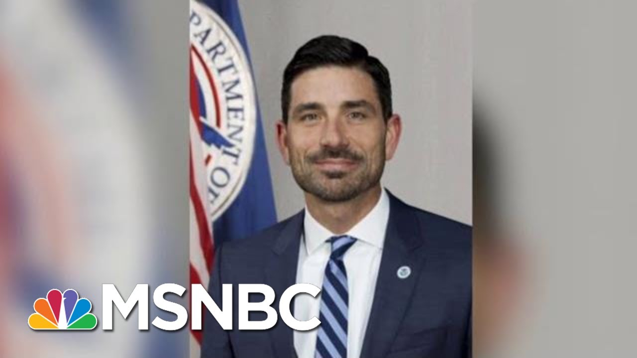 White House Considering Ex-Nielsen Chief Of Staff To Head DHS | Katy Tur | MSNBC 3