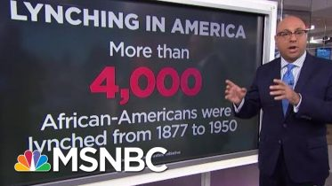 A History Lesson On Lynching | Velshi & Ruhle | MSNBC 6