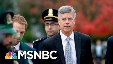 Amb. Bill Taylor's 'Devastating' Opening Statement Draws 'Direct Line' To Trump | Deadline | MSNBC 5