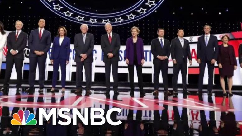 Democratic Donors Are 'Anxious' About Their Candidates   All In   MSNBC 1