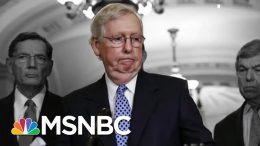 Trump: McConnell Said Ukraine Call Was Innocent. McConnell: No I Didn't. | The 11th Hour | MSNBC 8