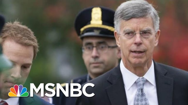 'Tone Of Moral Outrage' In Bill Taylor's Statement | Morning Joe | MSNBC 1