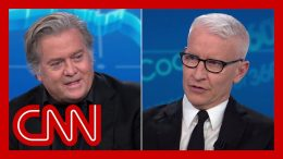 Anderson Cooper to Steve Bannon: You know this is bull 2