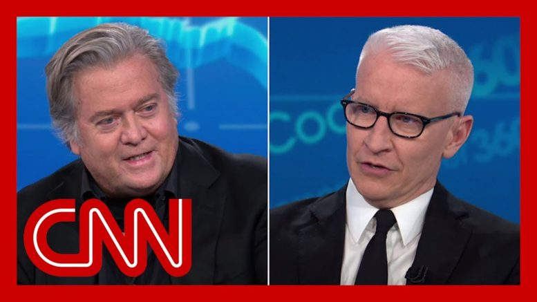 Anderson Cooper to Steve Bannon: You know this is bull 1