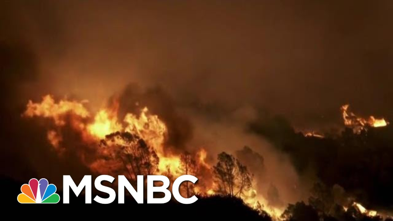 California Wildfires Crisis: The New Normal? | The Last Word | MSNBC 7