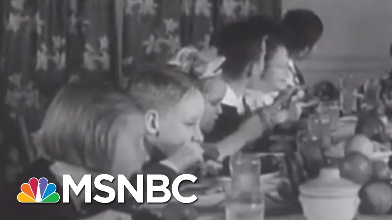 FDR Learned The Hard Way Not To Tinker With Thanksgiving | Rachel Maddow | MSNBC 2