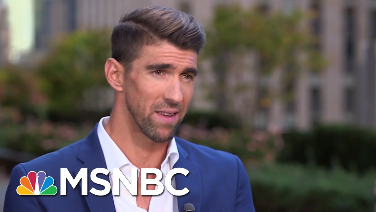 Michael Phelps On Saving Water, Mental Health And Hanging With Lil Wayne At SNL | MSNBC 13