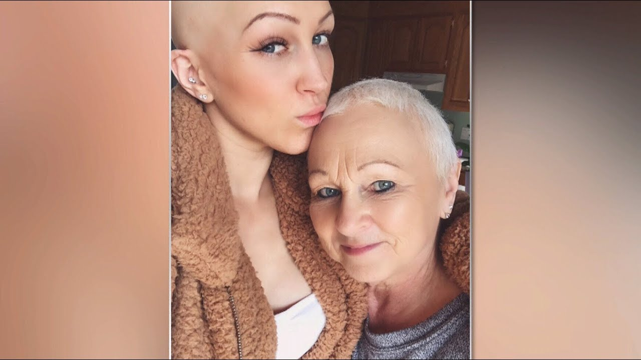 Mother and daughter battling cancer at the same time 6