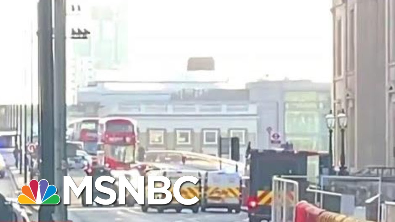 Armed Police Respond To 'Major Incident' At London Bridge | MSNBC 5