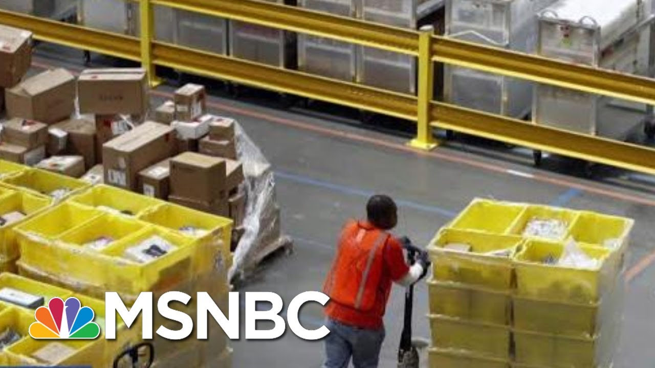 The Toll Black Friday Takes On Workers | Velshi & Ruhle | MSNBC 4