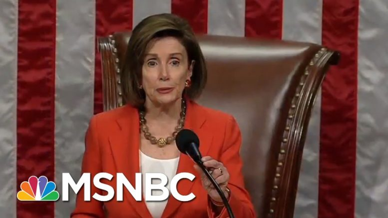 WATCH: House Votes To Pass Rules For Impeachment Probe   MSNBC 1