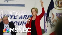 Biden, Warren Continue Battling For National Lead Of 2020 Field   Morning Joe   MSNBC 3