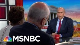 Sen. Booker: The 2020 Race Is Still Wide Open | Morning Joe | MSNBC 1