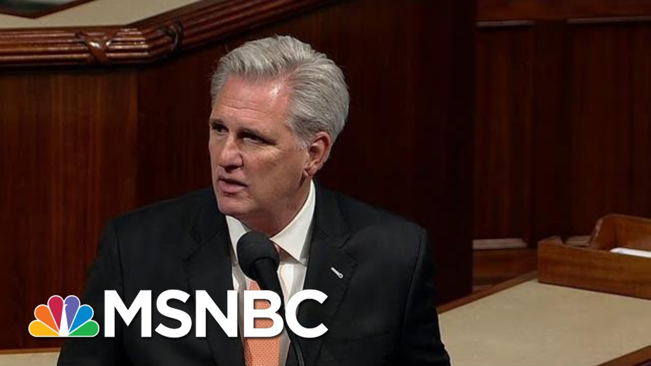 'This Is The Moment History Will Write': Kevin McCarthy Opposes Impeachment Vote   MSNBC 5