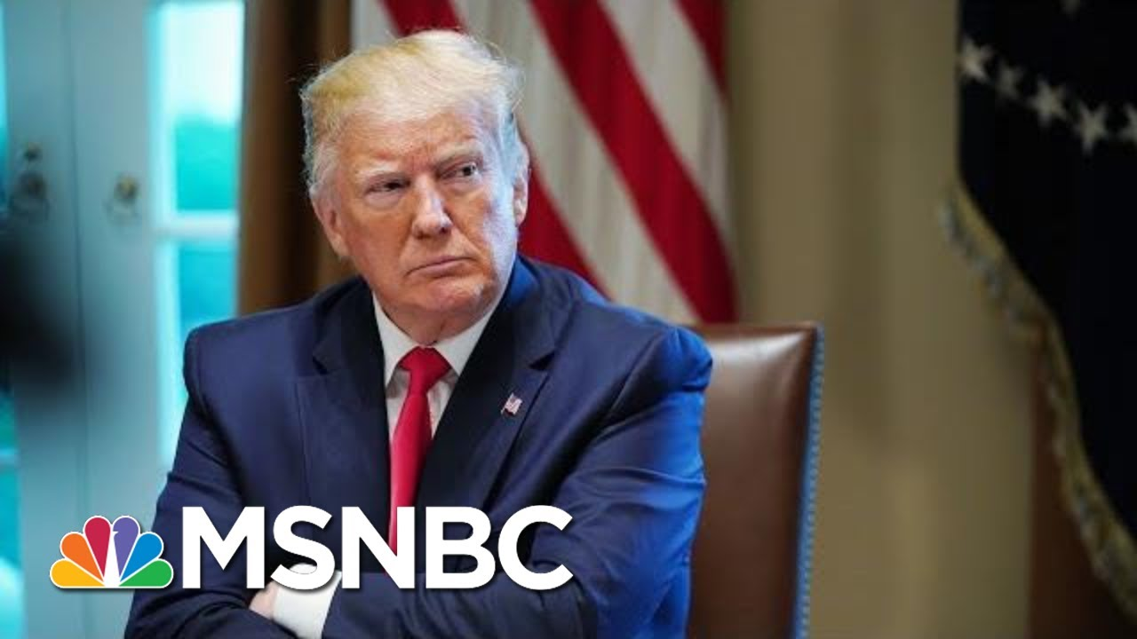 White House Issues Statement Against House Vote On 'A Sham Impeachment'   MSNBC 4