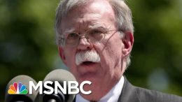 Lawyer Says John Bolton 'Not Willing To Appear Voluntarily' | Velshi & Ruhle | MSNBC 4