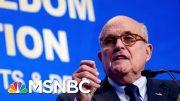 Giuliani Needed Apple Genius To Unlock Phone After Becoming Cybersecurity Adviser | Katy Tur | MSNBC 2