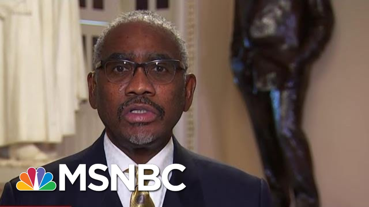 Meeks: 'Just About All' Witnesses Have Corroborated Whistleblower's Allegations'   MTP Daily   MSNBC 3