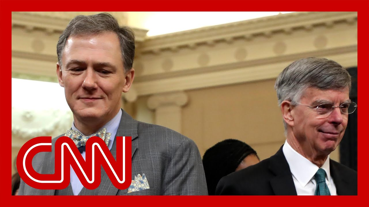 Trump impeachment hearings - Bill Taylor, George Kent (FULL CNN Live Stream) 5