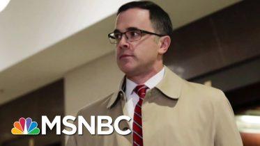 Latest Impeachment Witness Corroborates Amb. Taylor's Account Of A Quid Pro Quo   Deadline   MSNBC 2