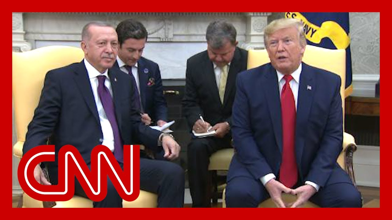 Trump praises Erdogan during White House visit 1